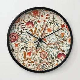 Modern poster-William Morris-Vegetable print 6. Wall Clock