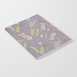 Wispy Cottage Garden 2 Notebook