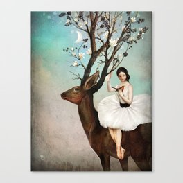 The Wandering Forest Canvas Print