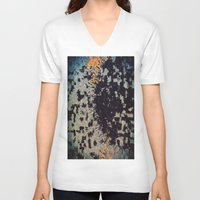 shell V-neck T-shirts featuring Shell by MonsterBrown