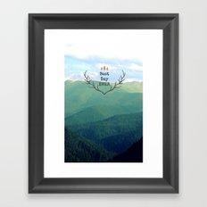 Best Day Ever! Framed Art Print