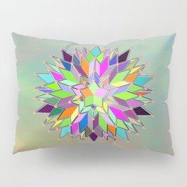 Mandala #106, Star Burst Pillow Sham