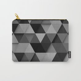 Abstract Pattern Triangle Carry-All Pouch