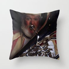 Silent Night! Throw Pillow