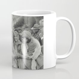 "Black Flappers - 1920s Fashion - ""Spectators"" Coffee Mug"