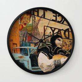 """""""GARDEN STATE"""" Wall Clock"""