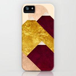 Modern Mountain No3-P2 iPhone Case