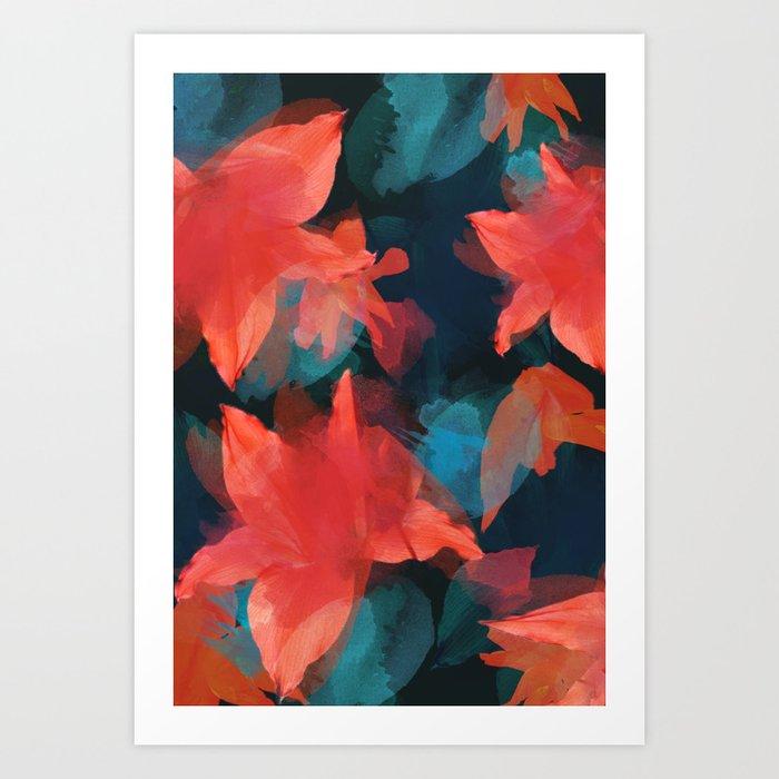 Midnight Garden Art Print