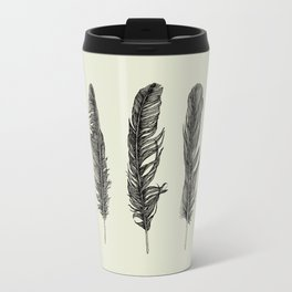 Lucky Five Feathers Travel Mug