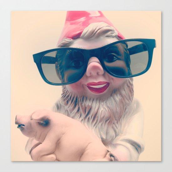 Fashion Gnome Canvas Print