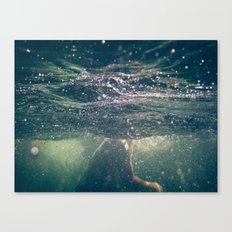 Underwater at the Lake Canvas Print