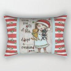 The Gift of Life - by stuDIo DUDA art Rectangular Pillow