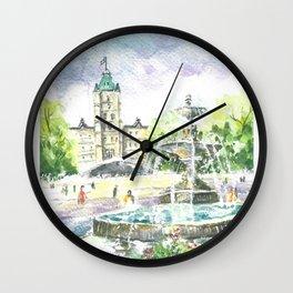 Where the river narrows Wall Clock