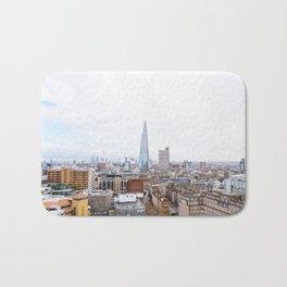 City Skyline View of the Shard, London Bath Mat