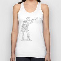 military Tank Tops featuring Military Art by Dario Olibet