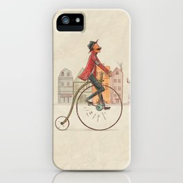 Old cycling iPhone Case