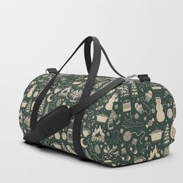 Winter Nights: Forest Duffle Bag