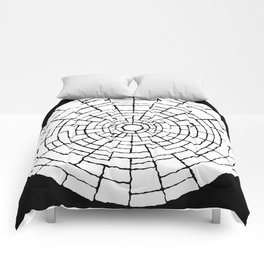 Inverted Cicle Wall Comforters