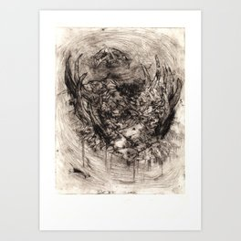 Ymir Butchered Art Print