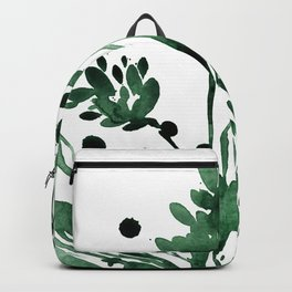 Organic Impressions No. 103 by Kathy Morton Stanion Backpack