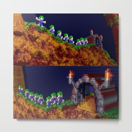 Inside Lemmings Metal Print