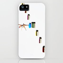 Dancing licorice lady iPhone Case