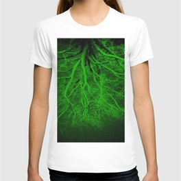 Twisted Perception Green T-shirt