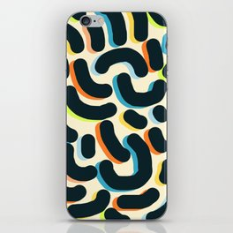 let it come through iPhone Skin