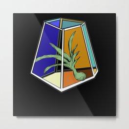 AU 25 Bold Terrarium Metal Print