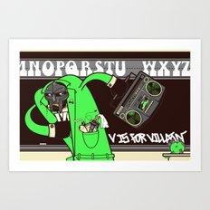 V. Vaughn Art Print