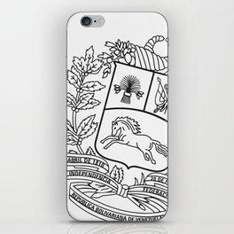 Escudo Venezuela - Trinchera Creativa iPhone Skin