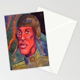 Red Pilot Stationery Cards
