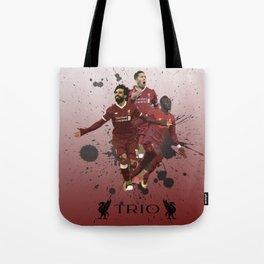 Liverpool trio attack Tote Bag