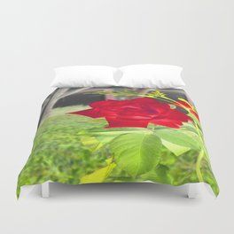 Color me Red... Duvet Cover