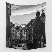 france Wall Tapestries featuring Lille, France by Thomas