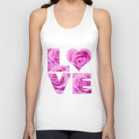 all you need is love Tank Tops featuring Love is all you need by LebensART