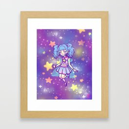 Lil Star Girl Framed Art Print