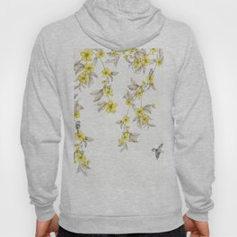 Birds and Cherry blossoms II Hoody