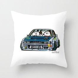 Crazy Car Art 0154 Throw Pillow