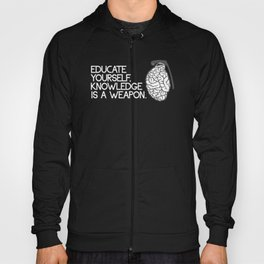 Knowledge is a weapon Hoody