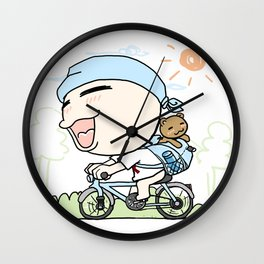 K YOUNG-OUTING(2) Wall Clock