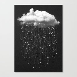 Let It Fall III Canvas Print