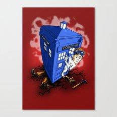 Dr Whorrible's Revenge! Canvas Print