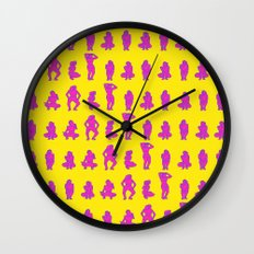 Dip & Come Up - Pineapple Wall Clock