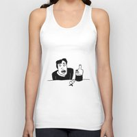 vodka Tank Tops featuring Vodka by Ehud Neuhaus