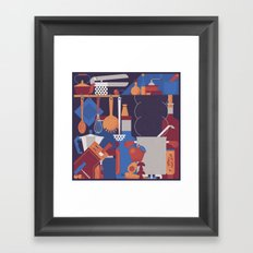 The Kitchen Framed Art Print