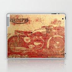 Triumph - Vintage Motorcycle Laptop & iPad Skin