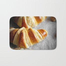 Perfect Croissants Bath Mat