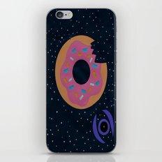 donut death star iPhone & iPod Skin