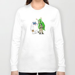 Stay Healthy, Stay Puft Long Sleeve T-shirt